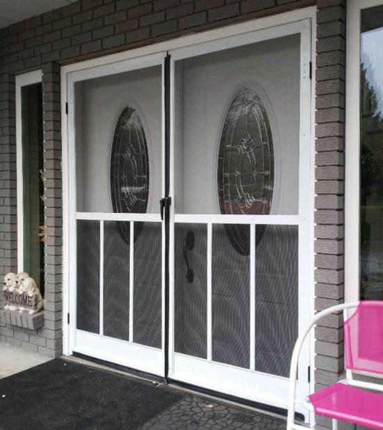 sweing fench door